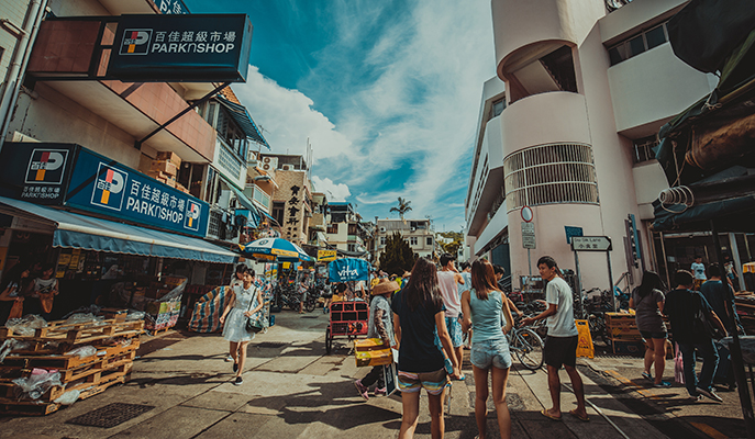 Cheung Chau Island local market (Photo: Yiucheung / Shutterstock.com)