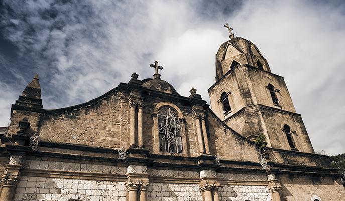 Guimbal Church (Photo: Arda Sacasciogullari / Shutterstock.com)