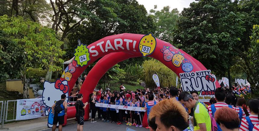 Hello Kitty Run (Photo: Hello Kitty Run Dubai)