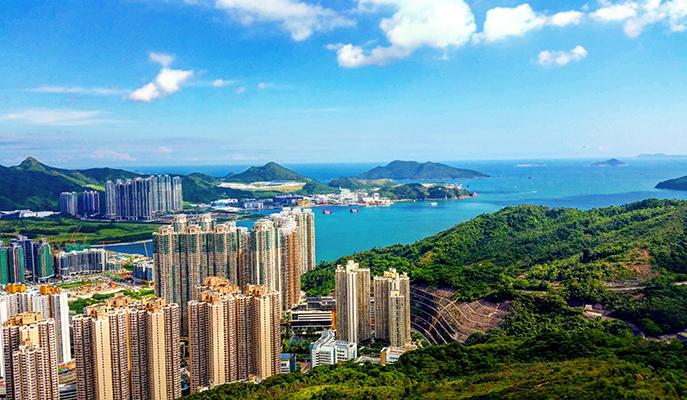 The view from Lam Tin (Photo: Arik Dane)