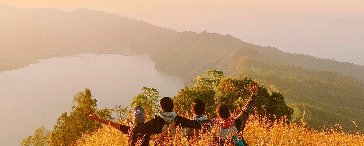 The vista atop Trunyan Hill (Photo: Wahyu Mahendranata)