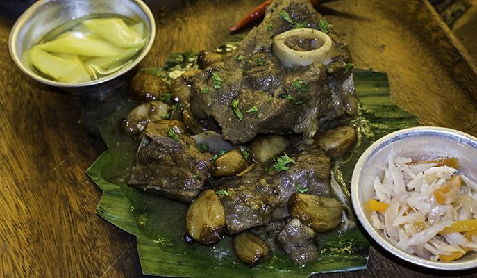 Slow cooked lamb at LOBO Filipino Tavern (Photo: Vic Guerrero)