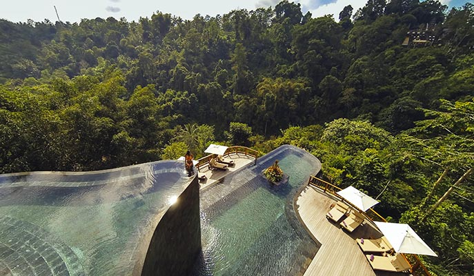The Hanging Gardens of Bali