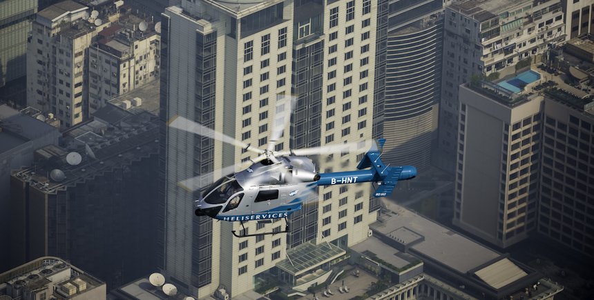 Get an expansive view of the city with a Helicopter Tour in Hong Kong