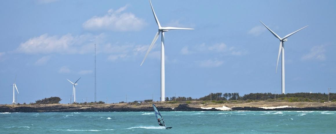 Surfing,Turbine,Chagwido Island,Hangyeong,Jeju,Jeju Island,Korea