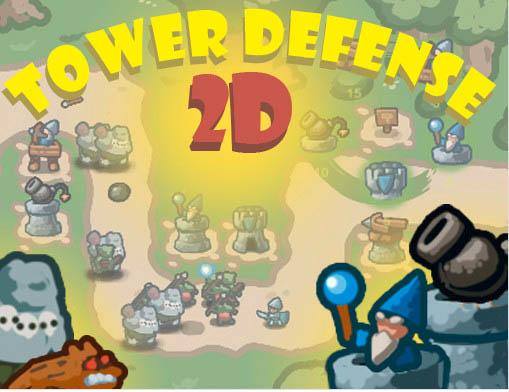 สร้างเกมแนว Tower defense ด้วย Tower defense 2d