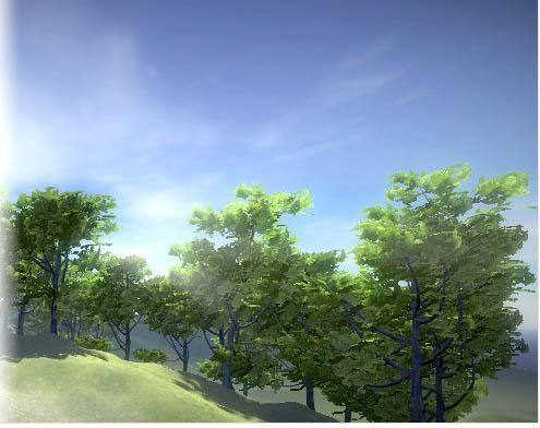 ต้นไม้แบบ Realistic ด้วย   Realistic Tree 9 [Rainbow Tree]