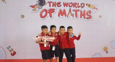 The world of maths – bước vào vũ trụ toán học cùng con