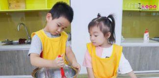 Dạy nấu ăn cho trẻ - rèn luyện những đức tính tốt