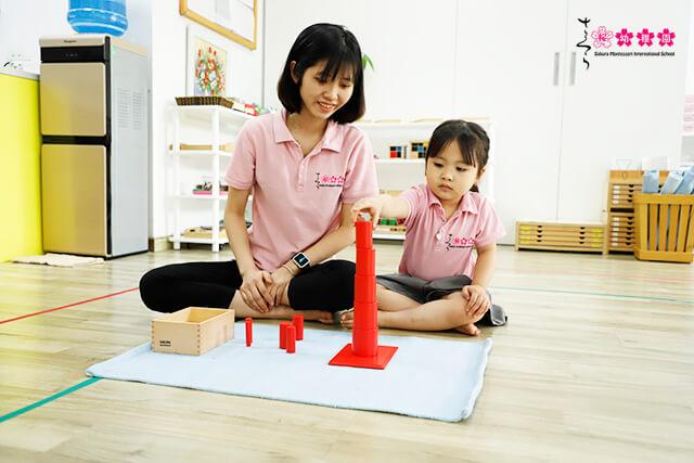 Trẻ được giáo dục như thế nào tại trường Montessori chuẩn quốc tế?
