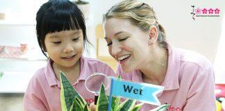 Hệ đào tạo quốc tế, trường mầm non quốc tế Sakura Montessori