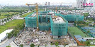 Cập nhật tiến độ dự án Sakura Montessori Gateway Tây Hồ Tây tháng 8/2020