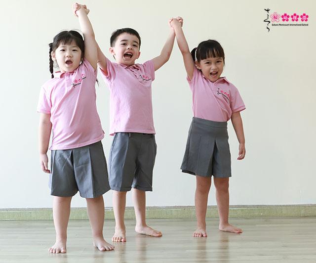 Chương trình dinh dưỡng tại Sakura Montessori giúp phát triển trí tuệ, thể chất và tinh thần.