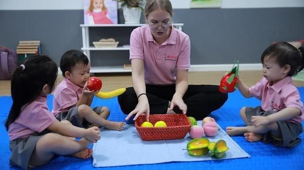 trẻ mầm non cần học ngoại ngữ sớm