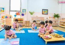 cơ sở vật chất tong chọn trường mầm non cho con