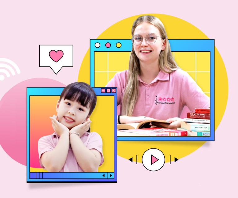 Dự án kết nối cho học sinh Sakura Montessori