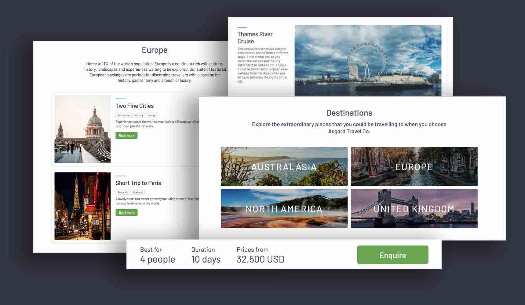 Website Builder for tour operators
