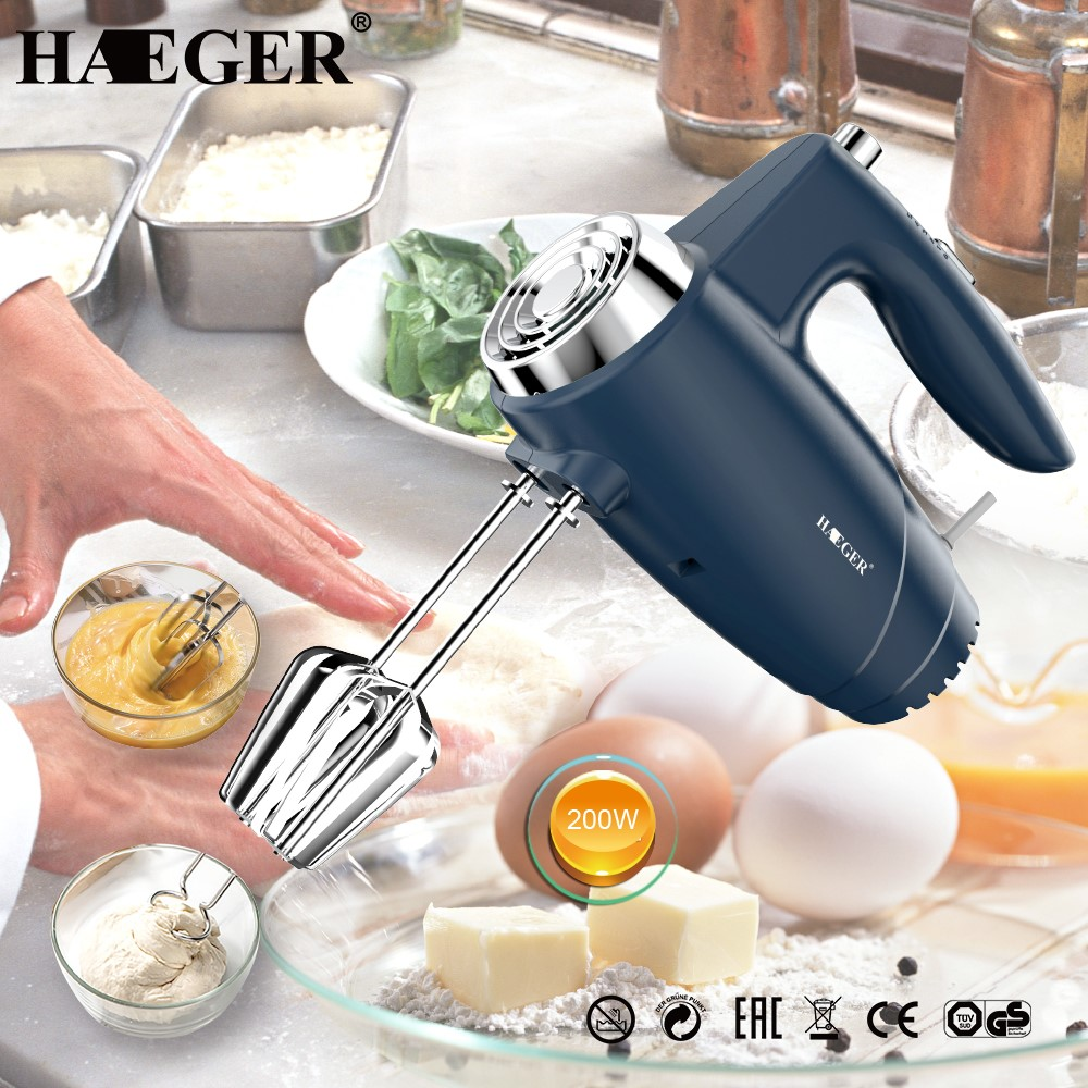 Hand Mixer 5 Speeds HG-6680 Beater Electric Hand Mixer