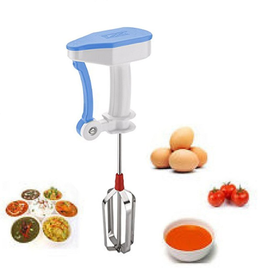 Power-free Hand Blender and Beater with High Speed Operation