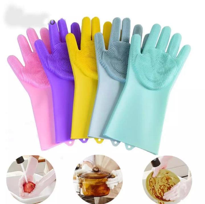 Magic Dishwashing Gloves