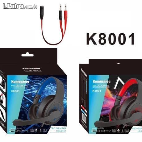 PRO GAMING PROFESSIONAL HEADSET K8001 HEADPHONES