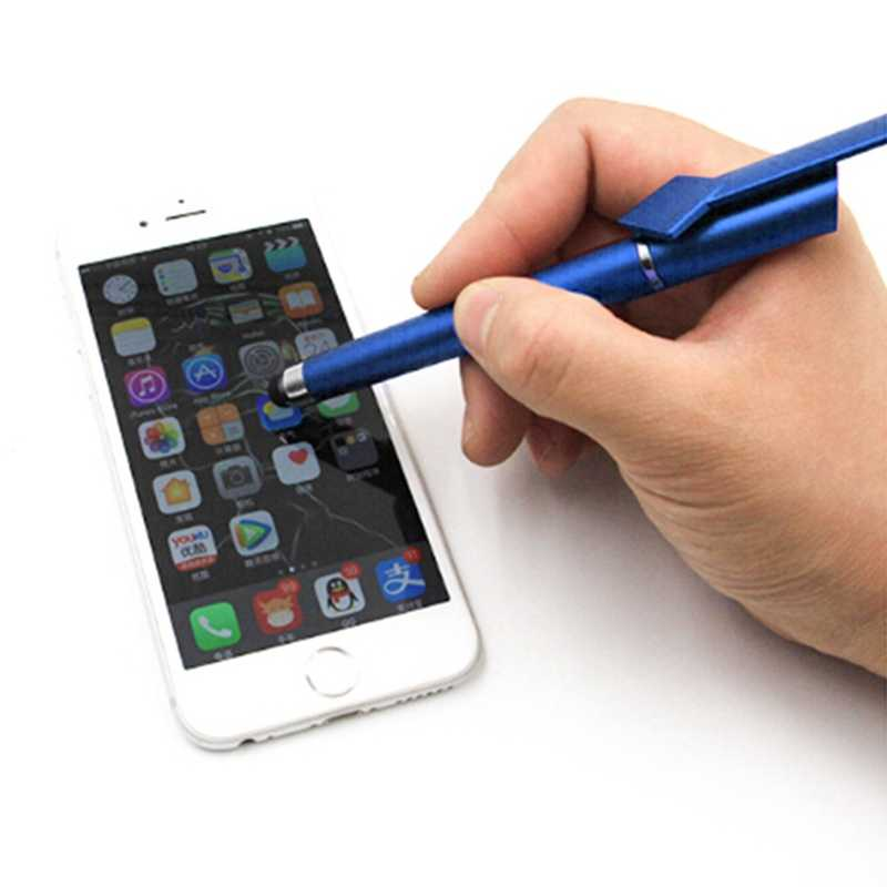 Multi-function Mobile Phone Stylus Ball pen Mobile Phone Stand Holder...