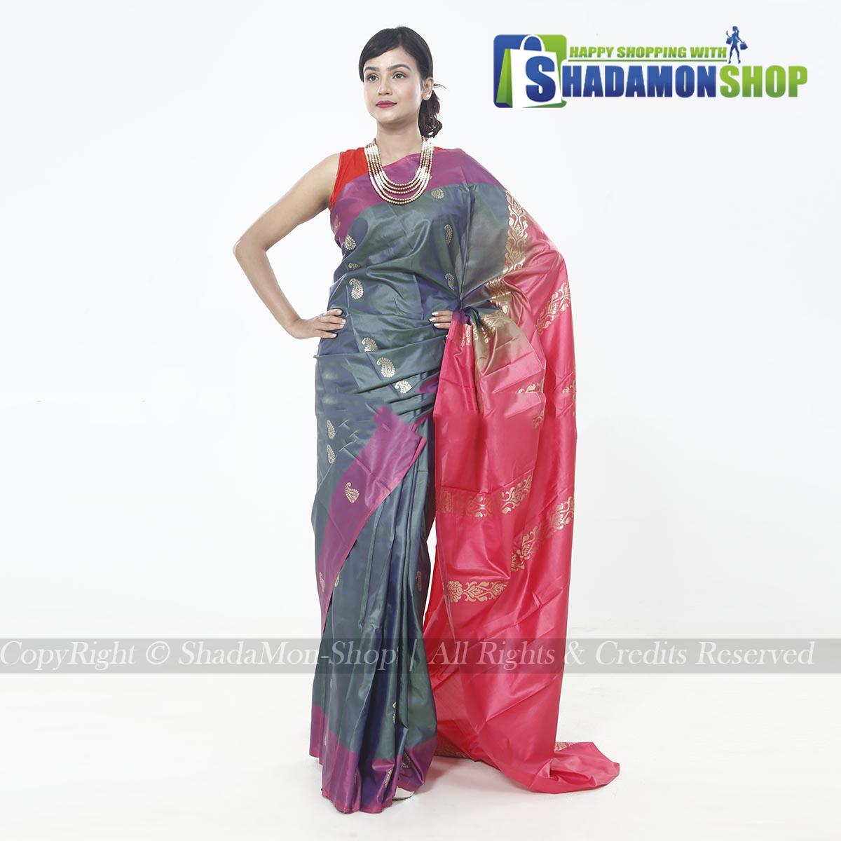 Soft Silk Katan Sarees For Women's