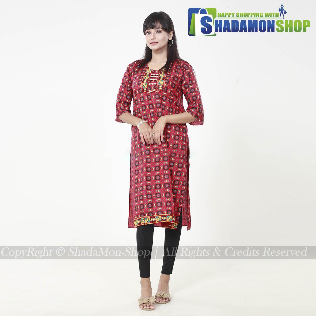 New Stylish Fashionable Kurti For Women's