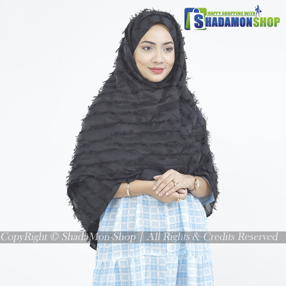 Premium Quality Hijab Black Colour