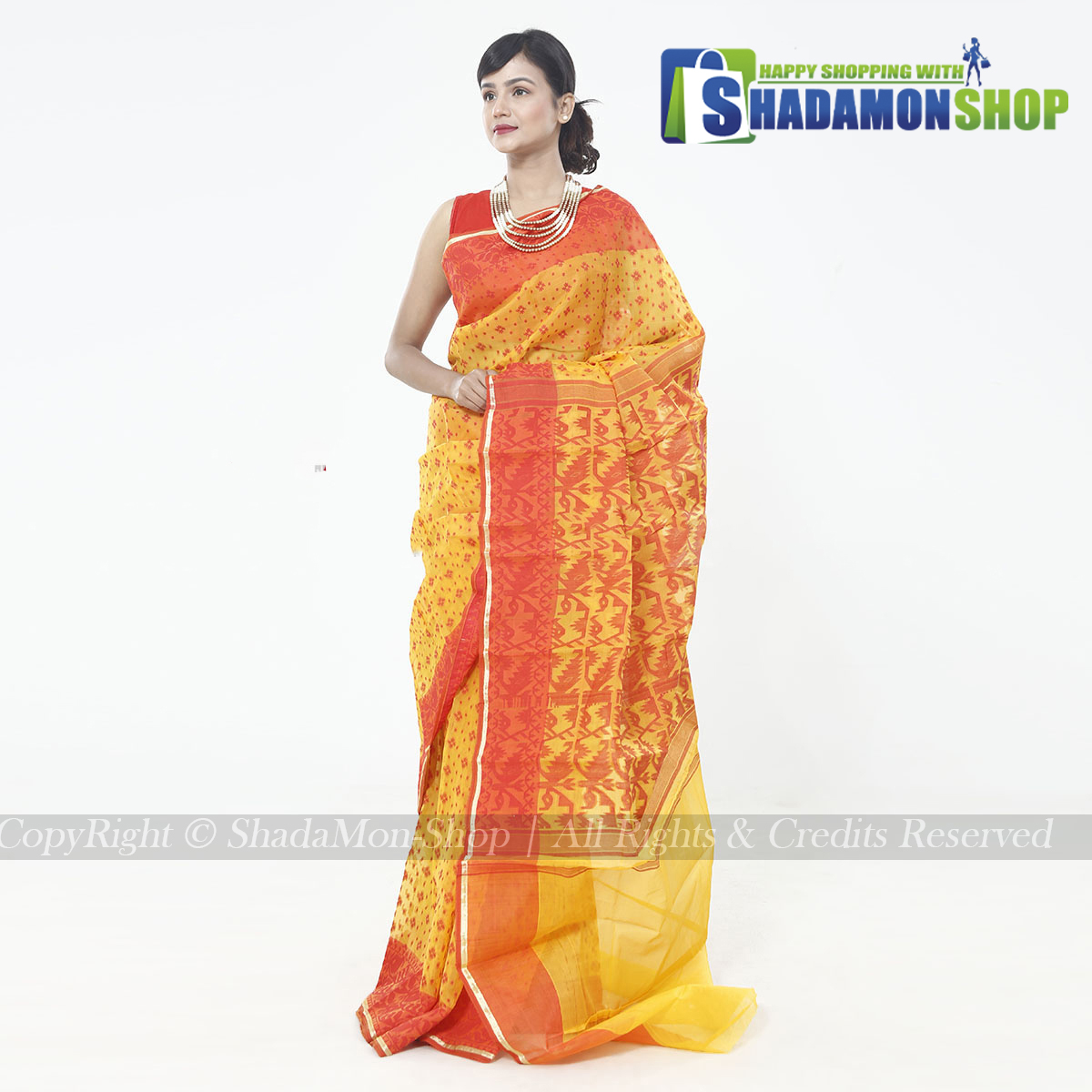 New Exclusive Jamdani Silk Saree