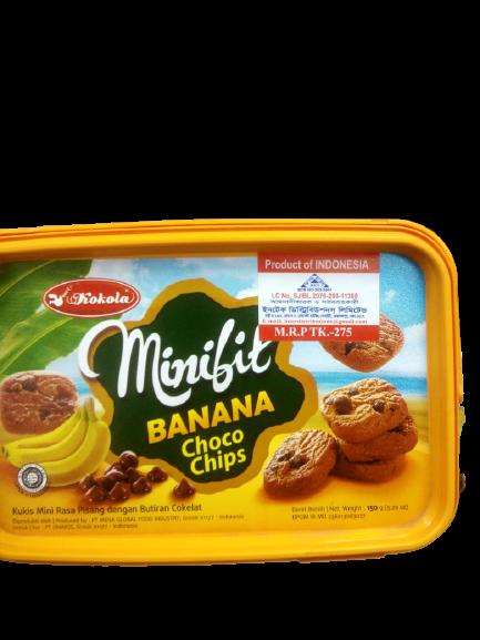 Banana Milk Biscuit