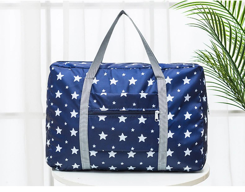 High Quality New Designable Star Waterproof Folding Travel Bag