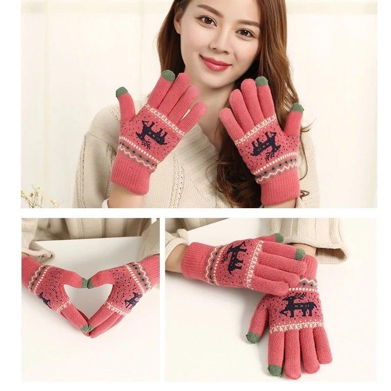 Stylish Deer Hand Gloves