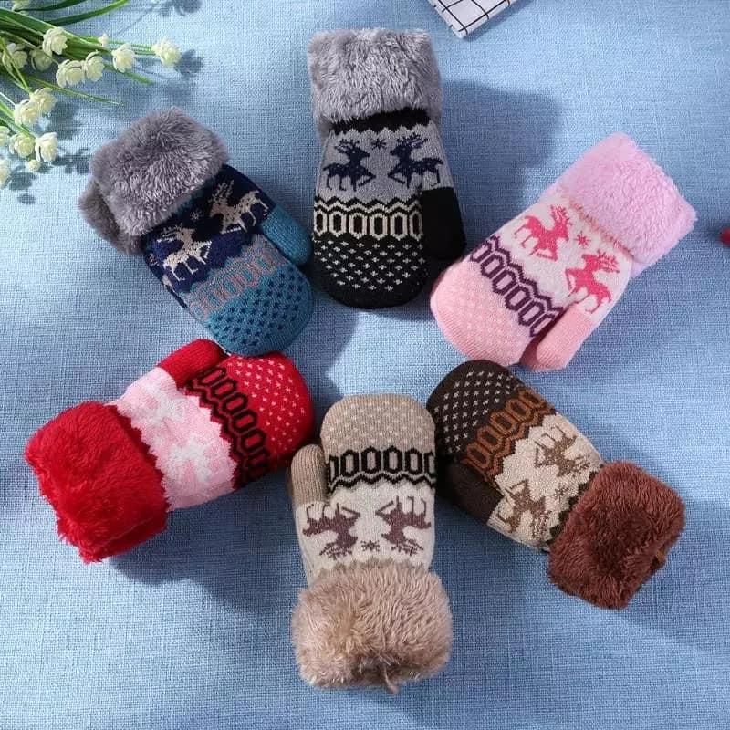 Stylish Winter Baby Hand Gloves