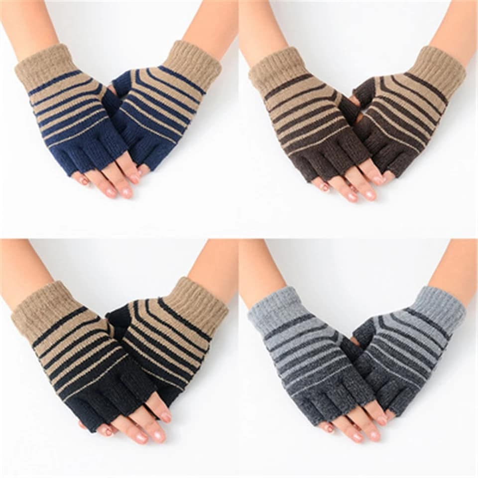 Unisex Fingerless Hand Gloves