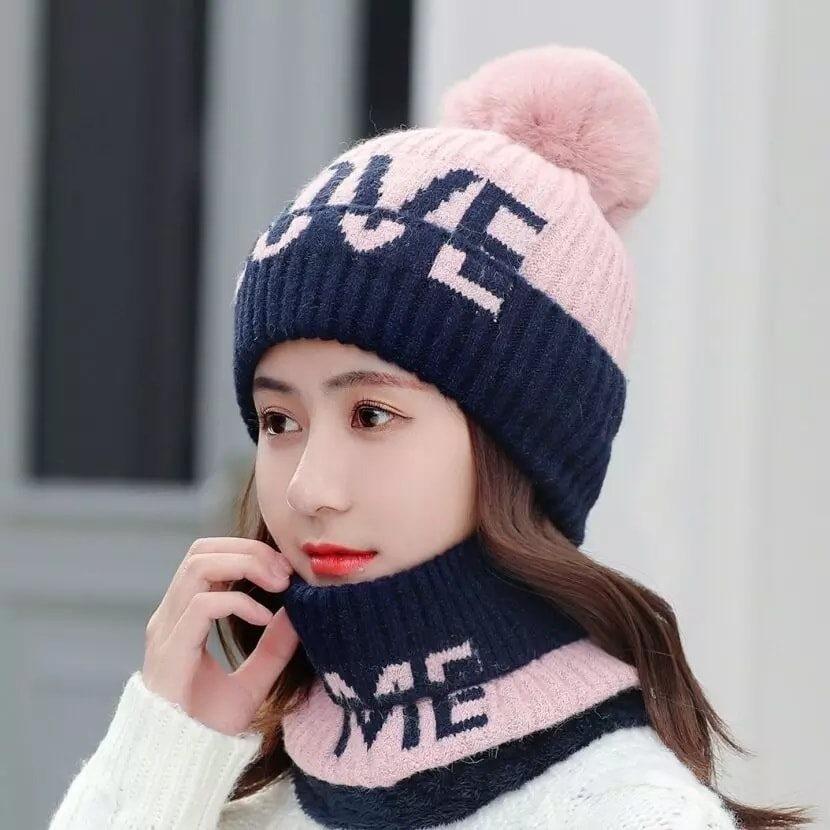 Brand New High Quality LOVE Women Winter Hats