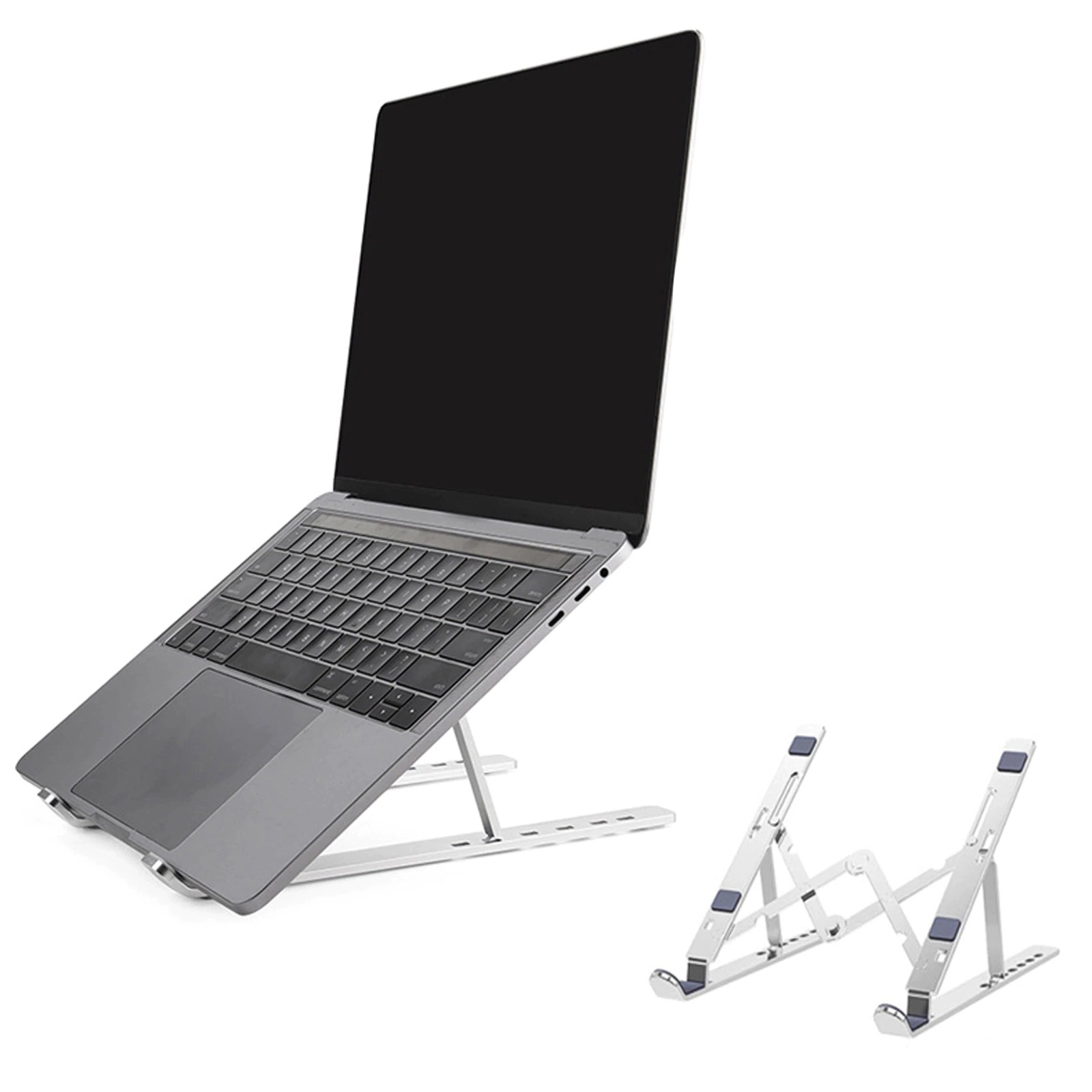 Portable Laptop Stand Foldable Support Base Notebook Stand For MacBook...