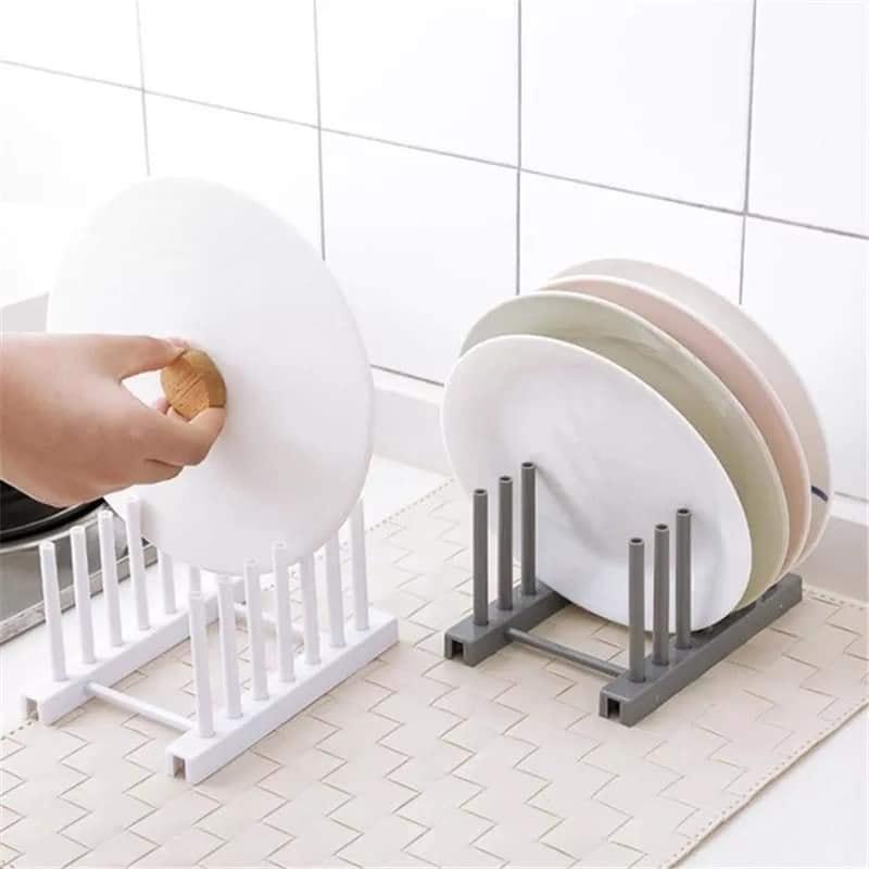 Kitchen Organizer Pot Lid Rack Spoon Plate Drain Rack Holder...