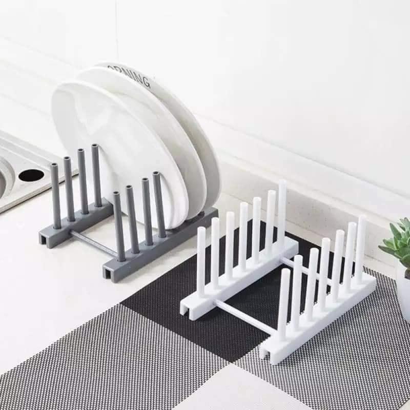 Kitchen Organizer Pot Lid Rack Spoon Plate Drain Rack Holder Shelf