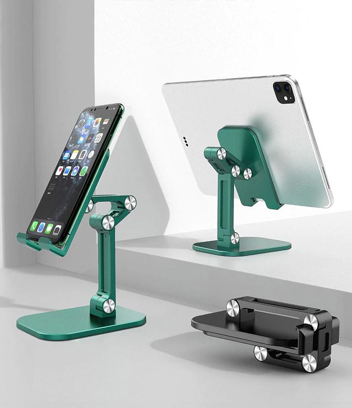 Foldable Desktop & Tablet Mobile Phone Holder