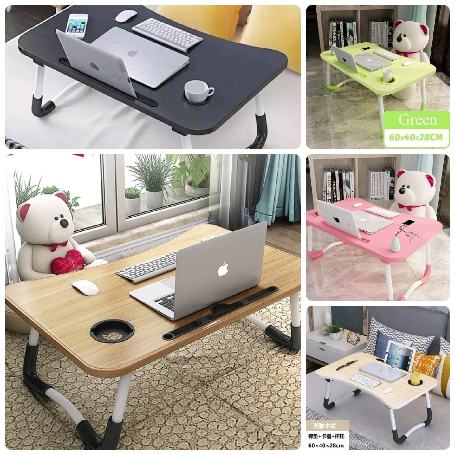 Multifunctional Foldable laptop Desk For Bed