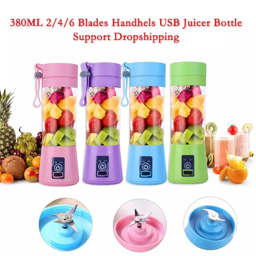 USB Rechargeable Portable Juicer / Blender
