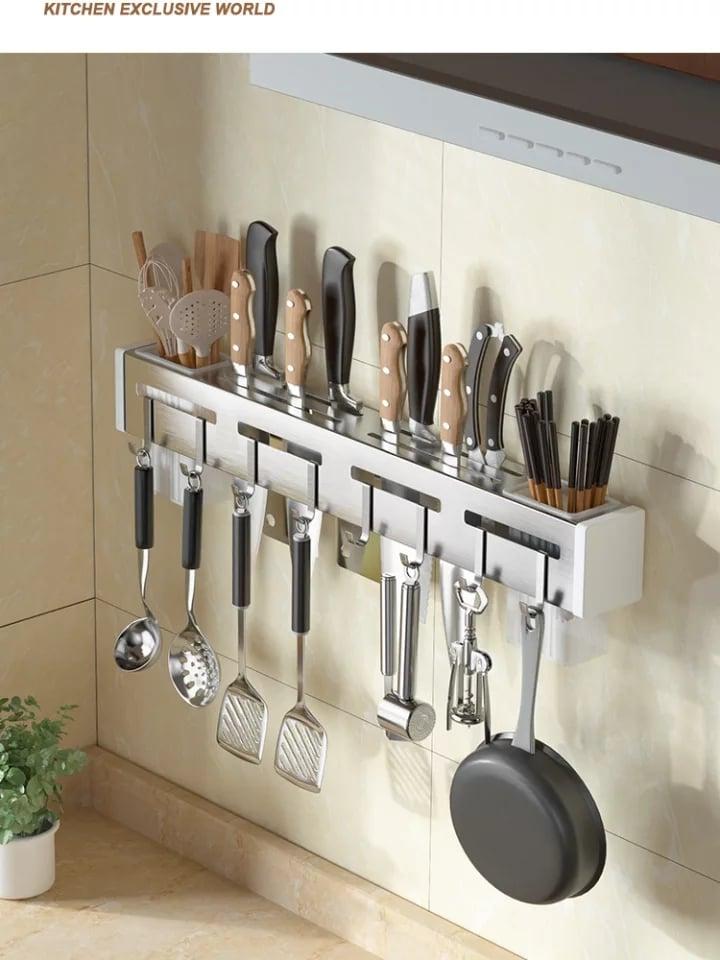 kitchen knife storage shelf