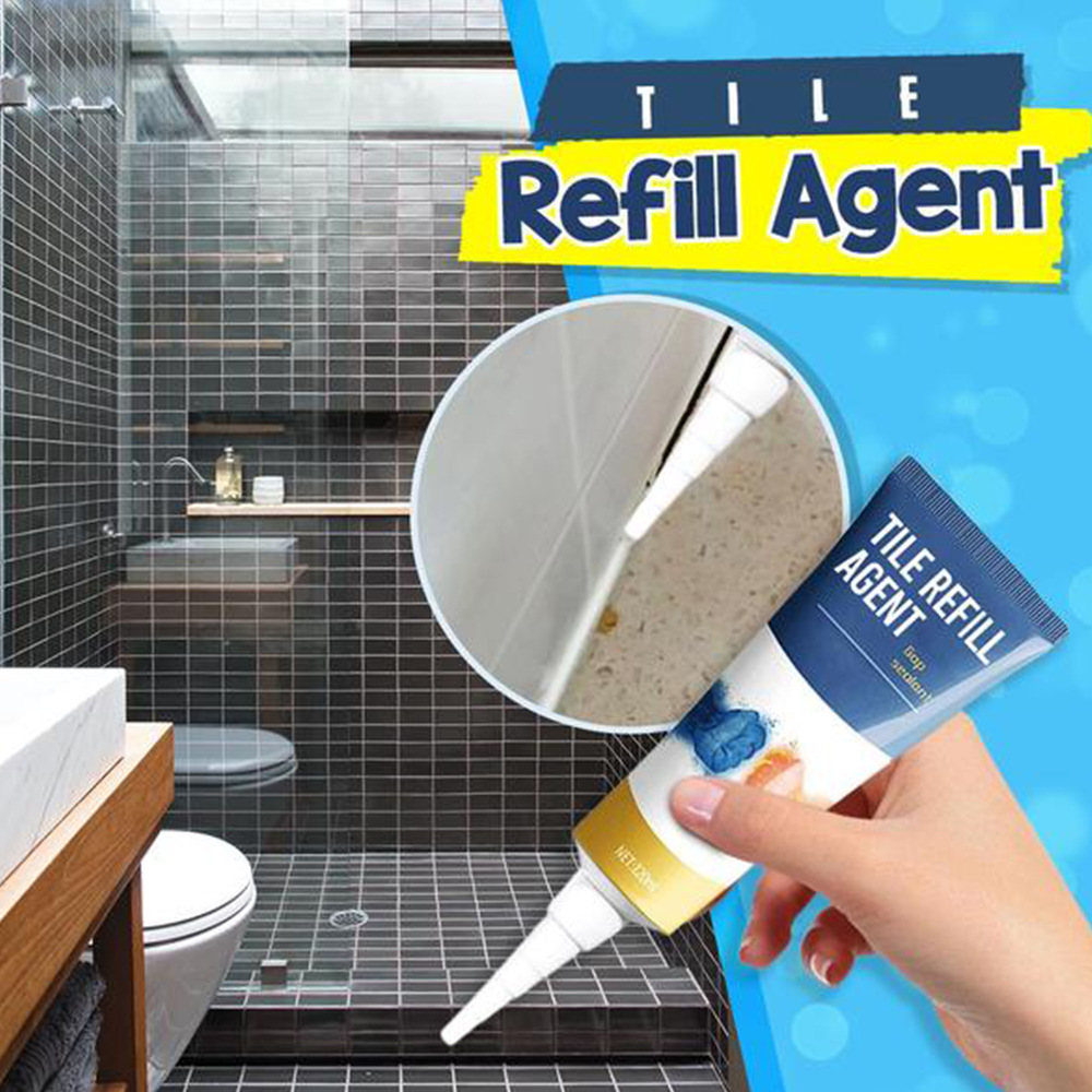 Tile Refill Grout Pen Mouldproof Filling Agents Wall Porcelain Bathroom...