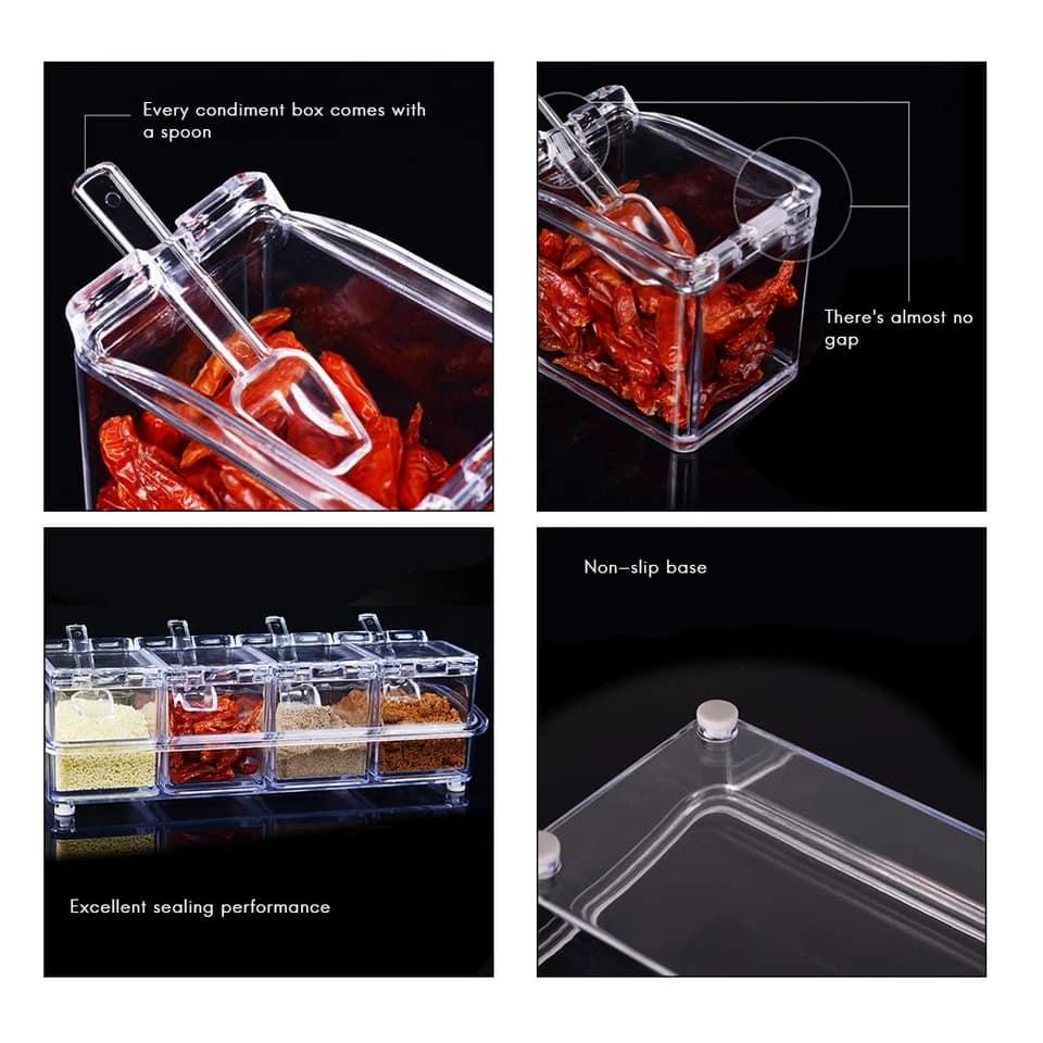 Acrylic Crystal Kitchen Storage Box