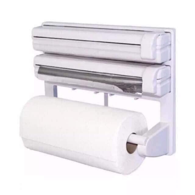 Triple Roll Paper Dispenser Tin Towel Holder