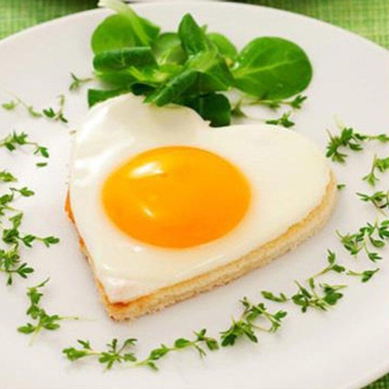 Stainless steel fried egg mold | Stainless Steel Set, Pancake Pan, Rings, Kitchen Tool 3pcs / set