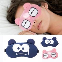 Soft Eye Sleep Aid Mask with Comfortable Ice Compress Gel...