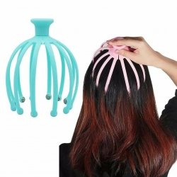 Head Scalp Massager Comb Neck Massage Roller Octopus Claws Magnetic...