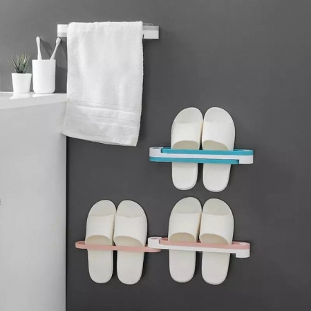 3 In 1 Wall Mounted Shoe Rack Foldable Shoes Hanger